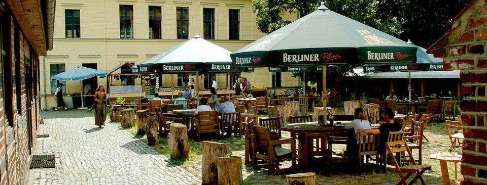 Biergarten des Gasthof Reuner