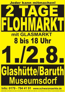 Flohmarkt Glashütte 1august2015